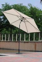 Jednoduchý zahradní slunečník s možností naklápění