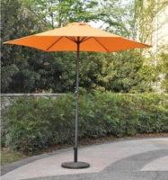 Oranžový zahradní slunečník 8120 o průměru 270 cm
