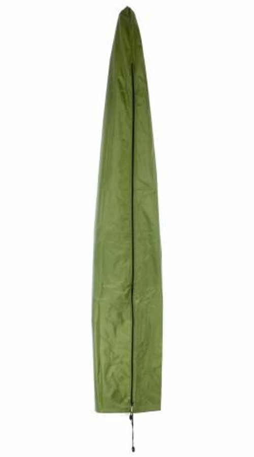 Zelený obal na slunečník s průměrem do 4 m