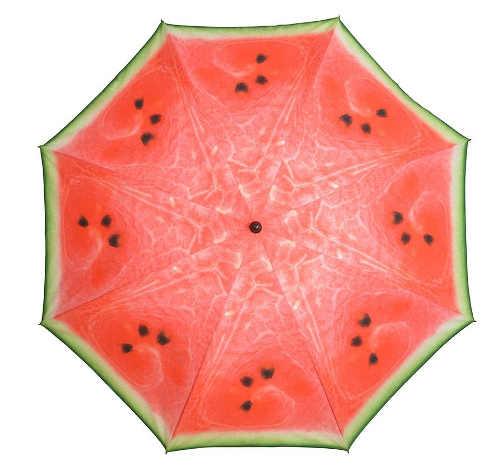 Slunečník vypadající jako meloun