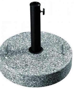Podstavec pod slunečník z granitu