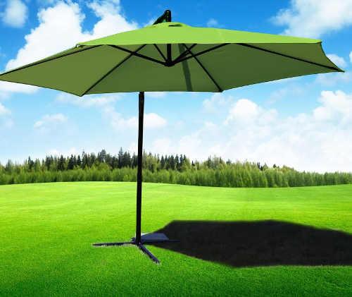 Zahradní slunečník praktický