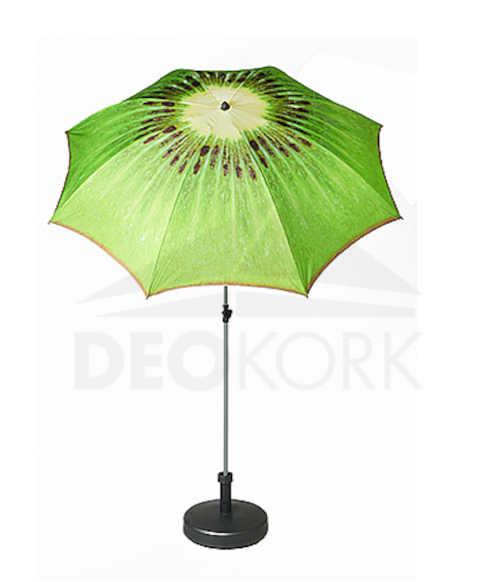 moderní a praktický slunečník s designem ovoce