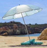 Levný slunečník na pláž Lecci průměr 180 cm