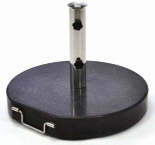 Mramorový kruhový stojan na slunečník 40 kg