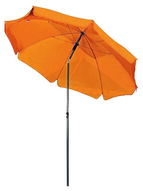 Oranžový naklápěcí plážový slunečník Doppler