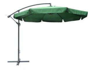 Boční zahradní slunečník v elegantním designu