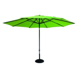 Zelený slunečník o průměru 3 m
