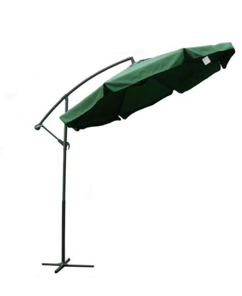 kvalitní zelený boční slunečník