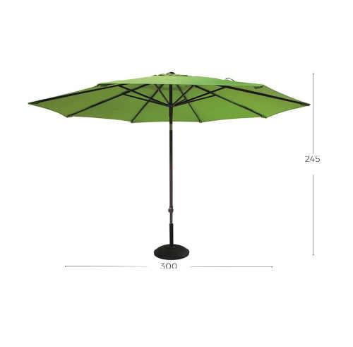 zelený zahradní slunečník hartman
