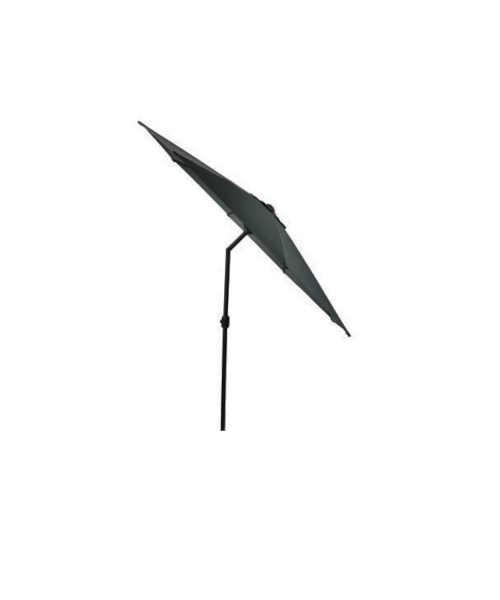 černý slunečník o průměru 3 m