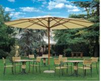 Velký zahradní slunečník Palladio TELESCOPIC z kvalitního materiálu